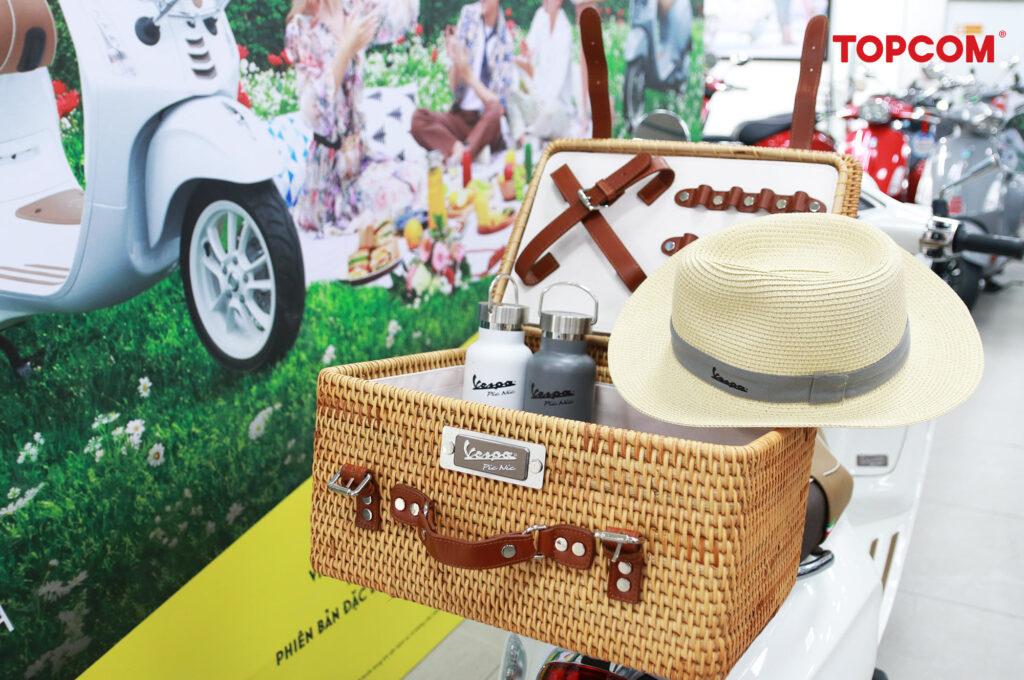 phụ kiện đi kèm xe picnic